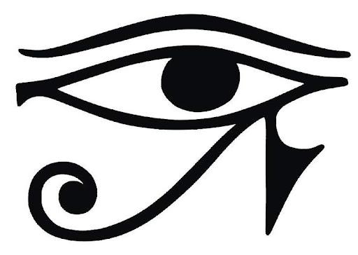 Horus'un gözü simgesi.